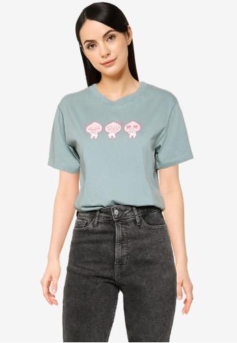 Cotton On blue Classic Pop Culture T Shirt 95DC1AA1A83BC9GS_1