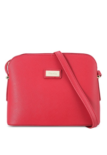 Mel&Co red Faux Leather Sling Bag 23960AC9EB88CDGS_1