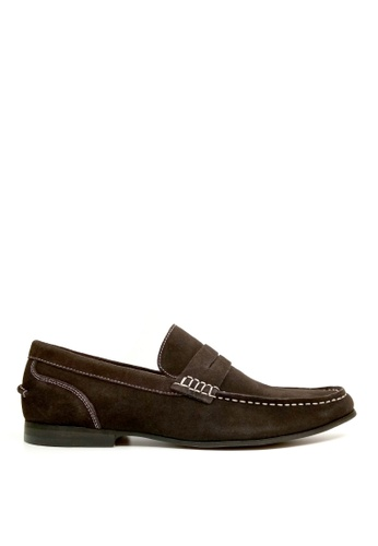 Kenneth Cole New York brown CRESPO LOAFER - Casual Loafer 04C5CSH06FBEB5GS_1