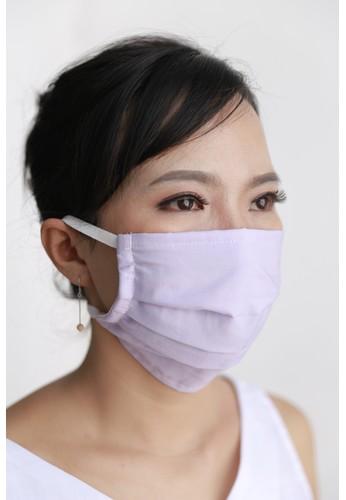 DhieVine Batik blue and purple Assorted Cotton Mask Purple-Blue Head-loop (3PCS) B7AC9ES8337F75GS_1
