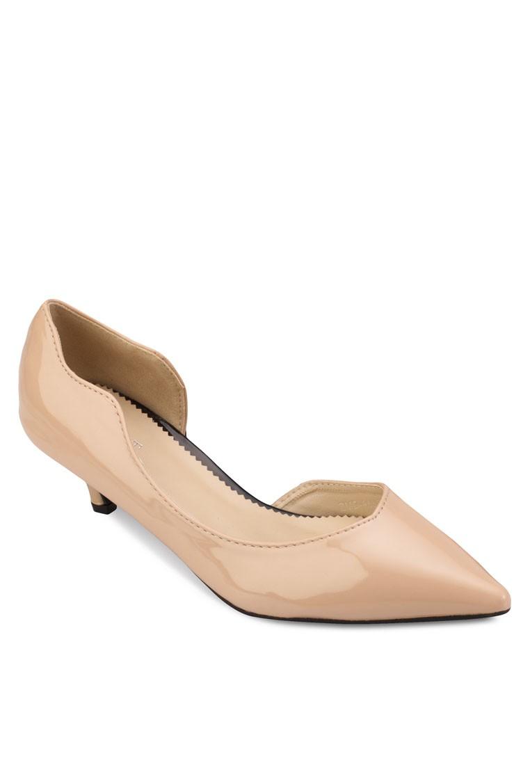 Hazel dOrsay Low Heels