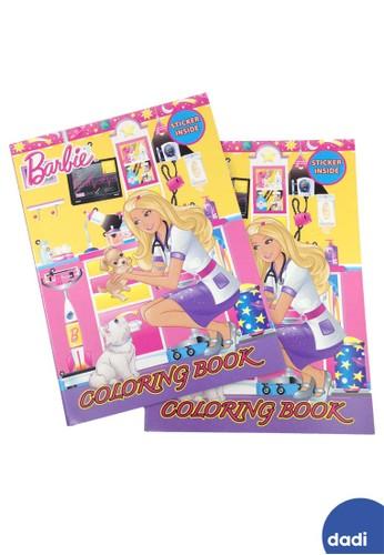 Barbie pink Barbie Doctor Coloring and Activity Book Large Buku Mewarnai dan Aktivitas 45D4FTH4D60CC8GS_1