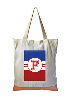 Tote Bag Sporty Initial F