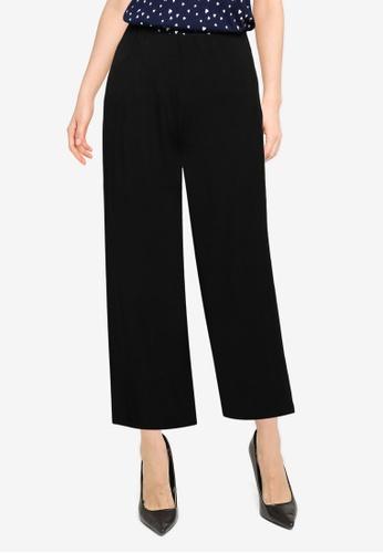 Springfield black Elasticated Waist Culottes C19F3AA73BB578GS_1