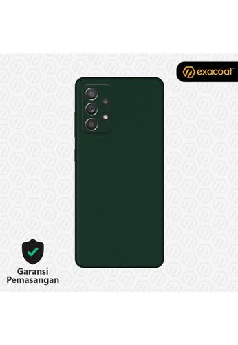 Exacoat Galaxy A72 Skins True Colors - Emerald Green 86770ES3B695CBGS_1