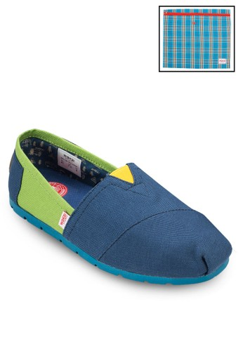 Akezalora 衣服尺寸mi 撞色懶人鞋, 鞋, 鞋