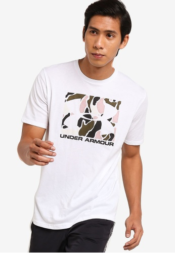 Under Armour UA Boxed Sportstyle Short Sleeve T-Shirt Homme