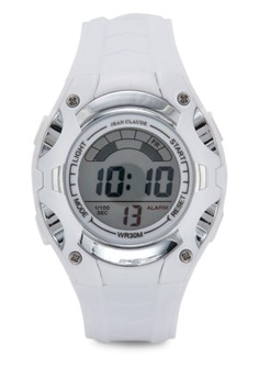 Jean Claude Unisex Sporty Digital Watch