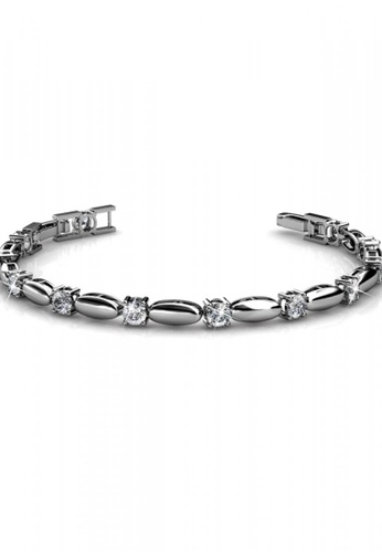 Her Jewellery silver Her Jewellery Hope Bracelet with Premium Grade Crystals from Austria 5038CAC5653E70GS_1