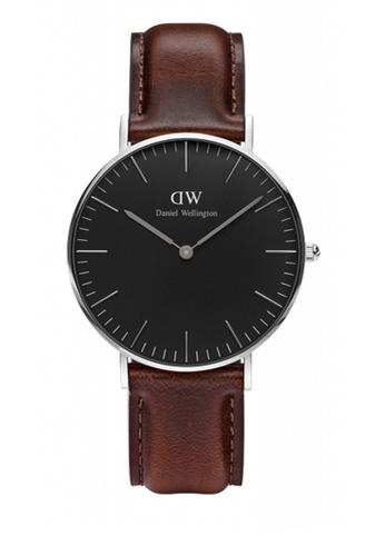 Daniel Wellington brown Classic Black Bristol Watch 36mm DA376AC72NBVMY_1