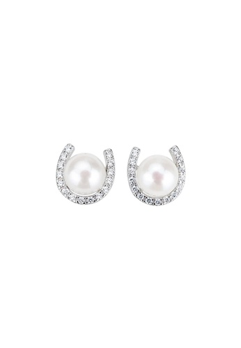 Pearly Lustre silver Pearly Lustre Elegant Freshwater Pearl Earrings WE00069 D405FACD88A21CGS_1