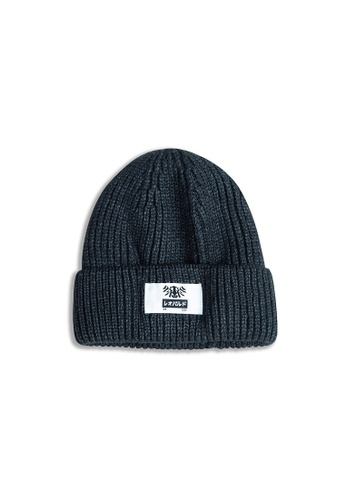 Reoparudo grey Reoparudo Crew Edition Beanies (Charcoal) 8835FAC0055B69GS_1