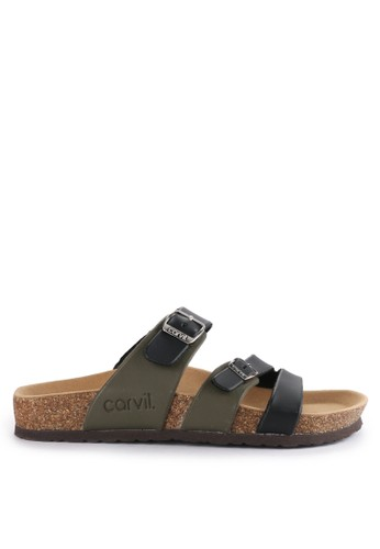 CARVIL black and multi Sandal Casual Men Clifton-03M F7A3ESHC02ACCAGS_1