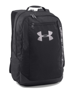 236b8dbe90 Sizes One Size · Under Armour black UA Hustle LDWR Backpack UN337AC92ZNBMY 1