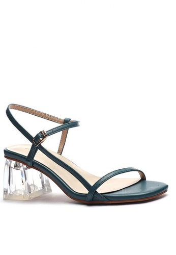 Twenty Eight Shoes Ankle Strap Crystal Heeled Sandals 1801-6 219E6SH6664BD0GS_1