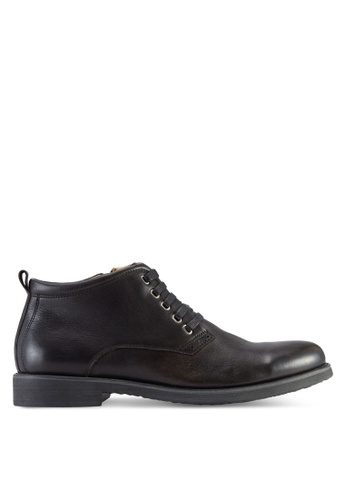 Knight black Side Zip Boots KN875SH03OMAMY_1