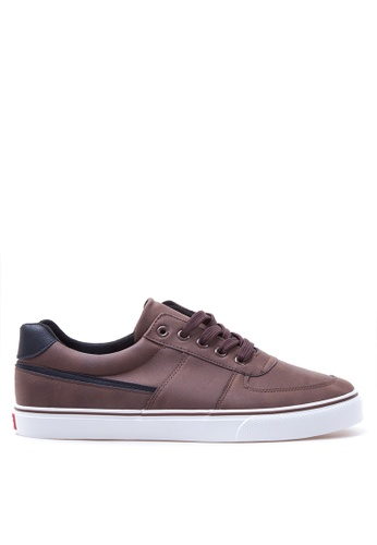 Italianos brown Javier Sneakers IT153SH82BSFPH_1