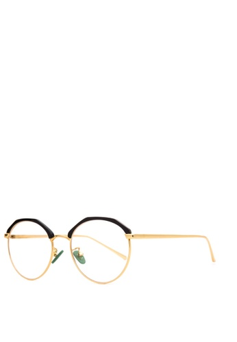Caoros black Olympia Round Glasses CA288GL70AKBPH_1