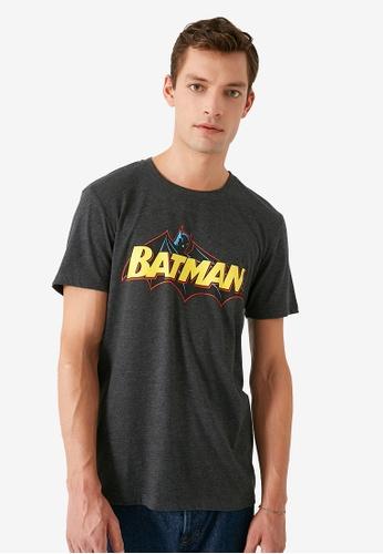 KOTON grey Batman T-Shirt 5CAA2AA5E6E0D0GS_1