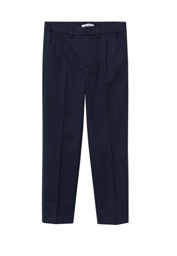 MANGO KIDS blue Straight Suit Trousers 4B339KA15C9B89GS_1