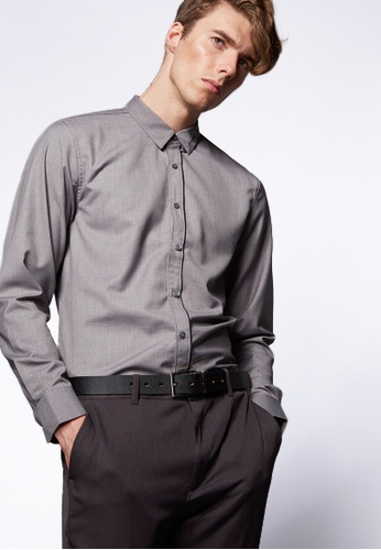 Life8 grey Formal Fashion Shirts-11103-Grey LI283AA0FFFZSG_1