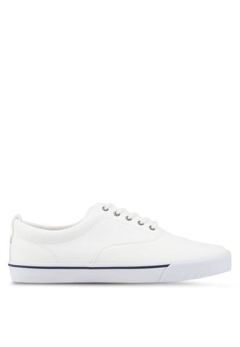 Call It Spring white Dunn Lace Ups Sneakers 3CED4SHF2D6DA6GS_1