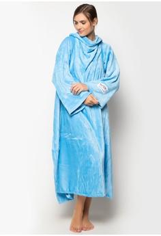 Bleeves (Blanket + Sleeves) Light Blue