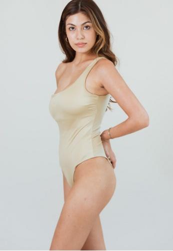 With Love, Seliana beige Bailey Swimsuit CC820US9A07CC2GS_1