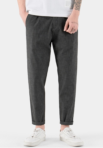 HAPPY FRIDAYS Thin Linen Casual Pants AP-J2218 571CAAAE6D7497GS_1