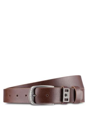 Lumberjacks brown Lumberjacks 35mm Belt LU545AC0SMCSMY_1