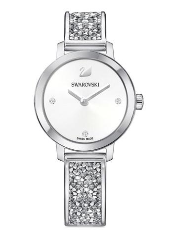 Swarovski silver Cosmic Rock Bangle Watch 31DA6ACBDD15BFGS_1