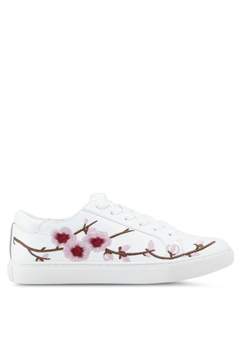 Kenneth Cole 白色 Kam Blossom Sneakers 823C0SH99105B3GS_1