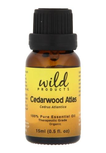 Wild Products Cedarwood Atlas (Cedrus Atlantica) Organic - 15ml 280B5BE69D1EDBGS_1