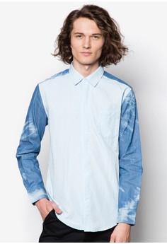 Washed Denim Long Sleeve Shirt