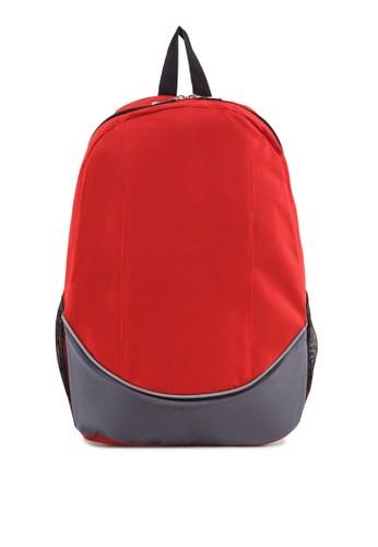雙色後背包, 包, 後背esprit taiwan包