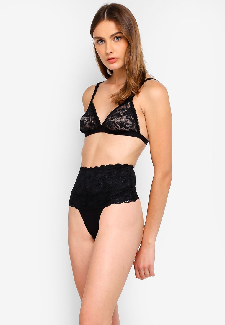 Cosabella Bralette Black Never Triangle Never Dreamie Say Soft P1xqTwR