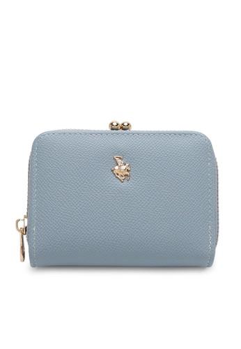 Swiss Polo blue Faux Leather Coin Purse 7F153AC704B764GS_1