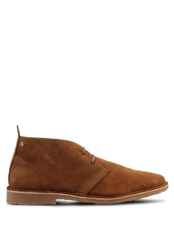 Jack & Jones brown Gobi Suede Boots 13504SHE03C169GS_1