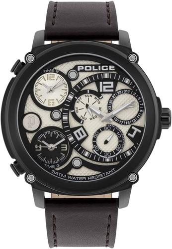 Police black and brown Jam Tangan Pria Kulit Police PL.15659JSB14 Original 1182EACF10B4C3GS_1
