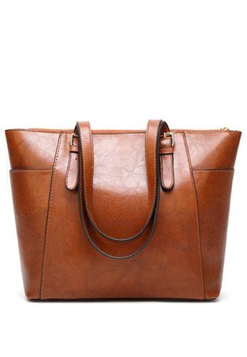 Halo brown OL Two Way Shoulder Bag 94678ACBD2D7C6GS_1