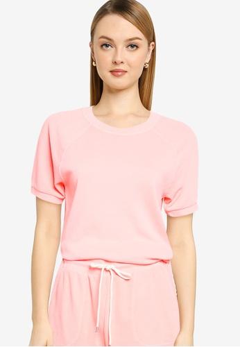 GAP orange Raglan Short Sleeve Crewneck Sweatshirt 31933AA51A2070GS_1