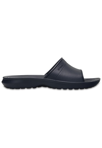 Crocs blue Classic Slide Navy CR883SH0RCDRMY_1