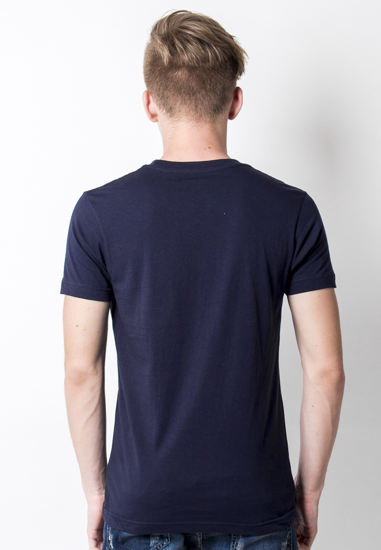 Navy 2nd Back in to Tee Basic Edition Blue Navy qgg8YZnp