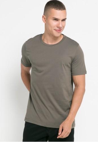 Men's Top green ASAGI - OLIVE T-shirt 9CD23AA6E66DE7GS_1