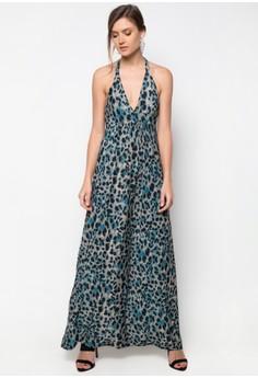 Triangle Halter Dress