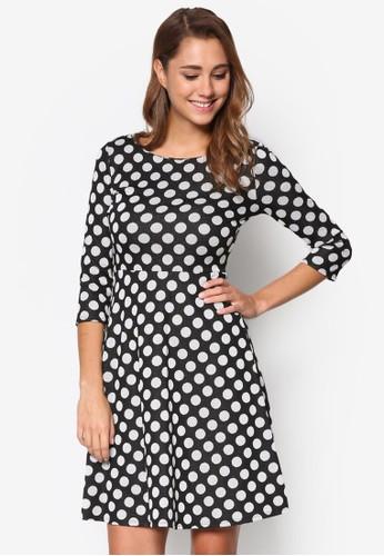點點印花修身洋裝、 服飾、 洋裝Wallis點點印花修身洋裝最新折價