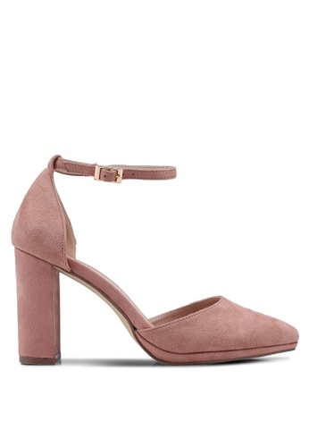 Carlton London pink Ankle Strap Heels FFE73SH24EEC7AGS_1