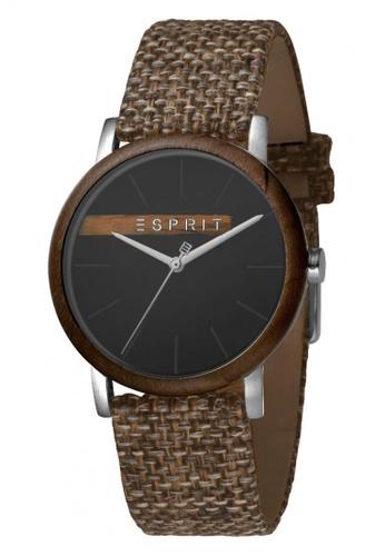ESPRIT grey Esprit Men Plywood Black Grey Canvas ES1G030L0045 AFD69AC7765FCDGS_1