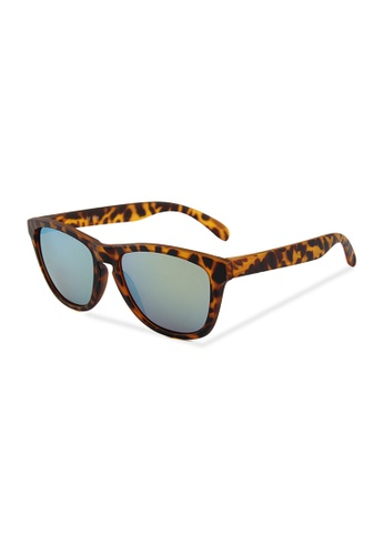 Quattrocento Eyewear Quattrocento Eyewear Italian Sunglasses with Gold Lenses Model Vitale B57D7GL5D98FD1GS_1