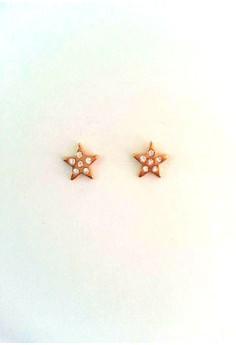 Star Stud Earrings Stainless Steel